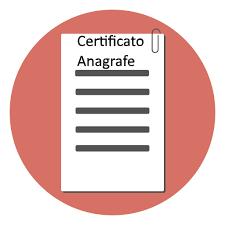 Certificato Anagrafe